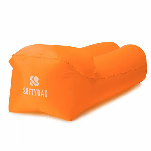 SoftyBag Uppblåsbar Loungesoffa, Orange