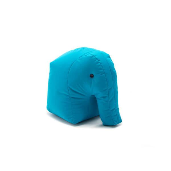 Happy Zoo Lekdjur/Sittsäck Carl, ljusblå