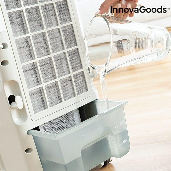 Bärbar luftkonditionering 4.5 L 70W Grå