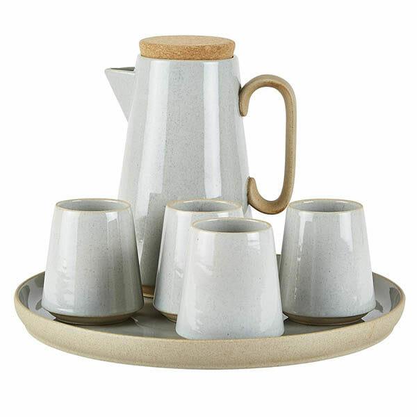 Kaffeset Terracotta, Grå