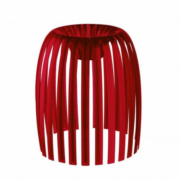 Lampskärm, Josephine M, Röd