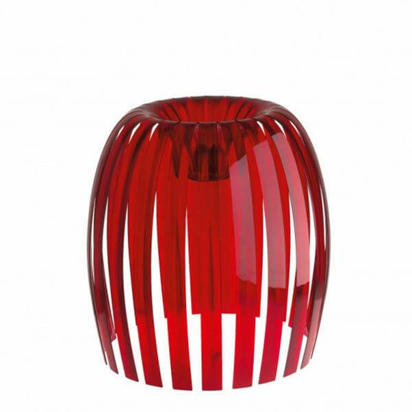 Lampskärm, Josephine XL, Röd