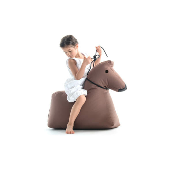 Sitting Bull Lekdjur/Saccosäck Lotte, Brun