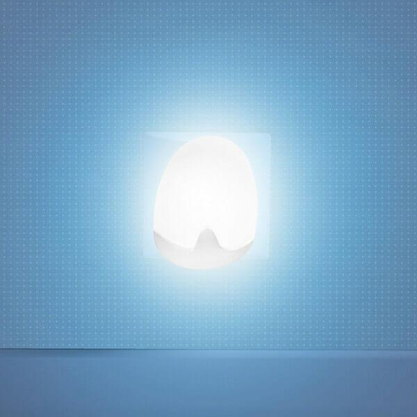 Automatisk Nattlampa Vit