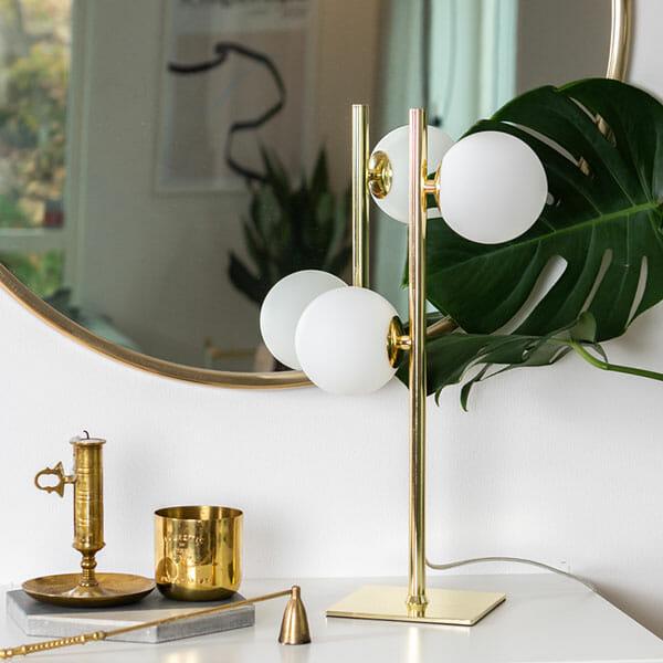 Lygnern Bordslampa, Guld
