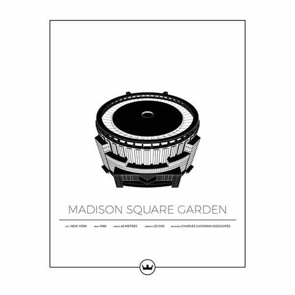 Poster Madison Square Garden - New York