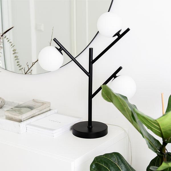 Smarholmen Bordslampa, Svart