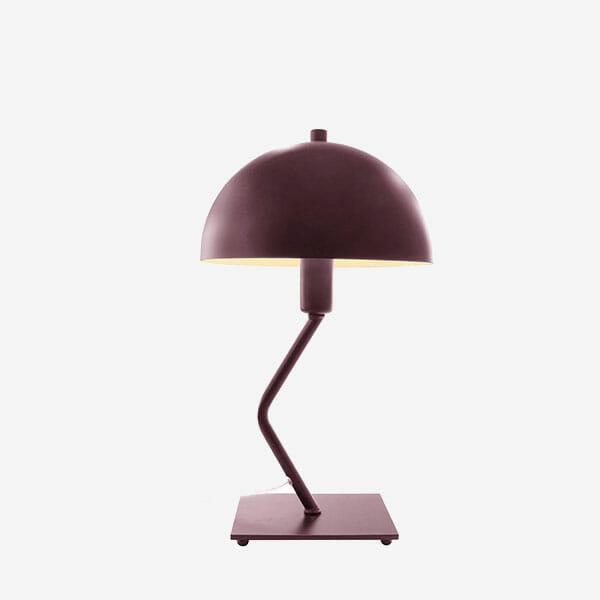 Bordslampa Classic Mini Matt Bordeaux