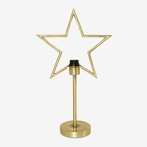 Bordslampa Guldstjärna