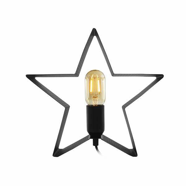 Bordslampa Metallstjärna