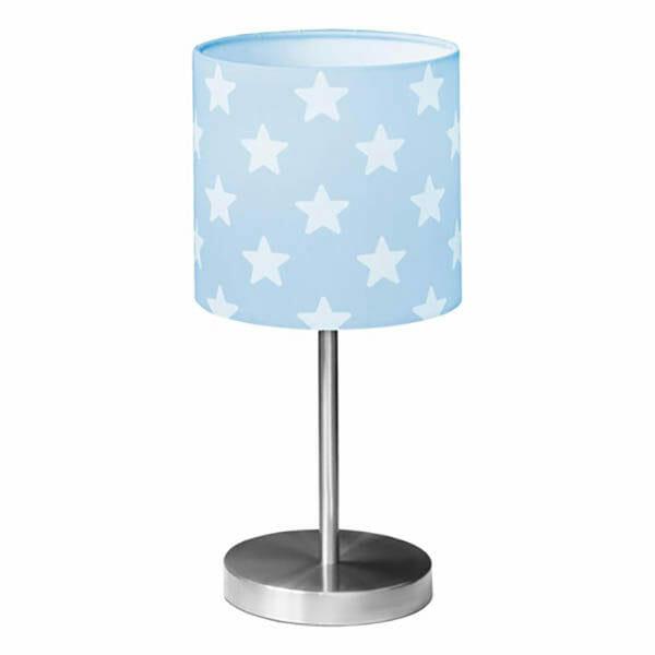 Bordslampa Star, Ljusblå/Vit