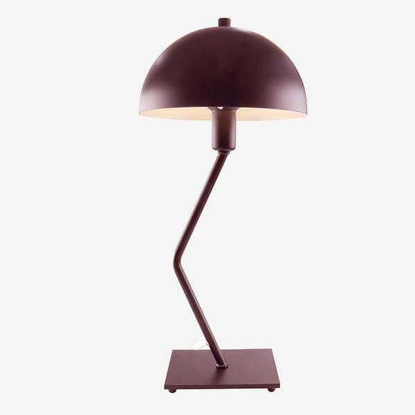 Classic Bordslampa Matt Bordeaux