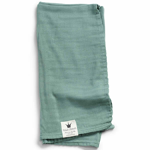Elodie Details Bamboo Muslin - Mineral Green