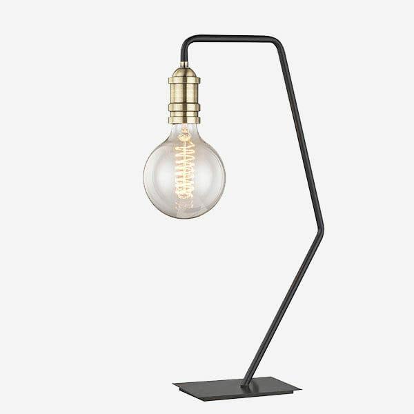 Krok Bordslampa - Svart/mässing Havsö