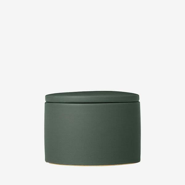 COLORA Förvaringsask, Olivgrön