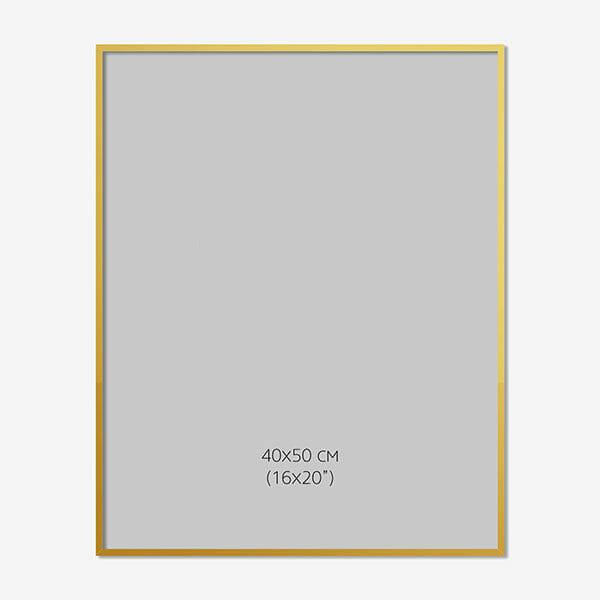 Guldram, 40x50cm