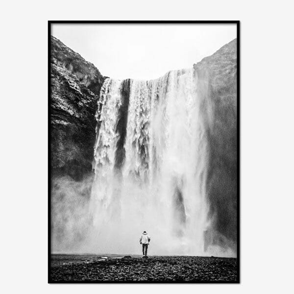 Poster Majestic Waterfall