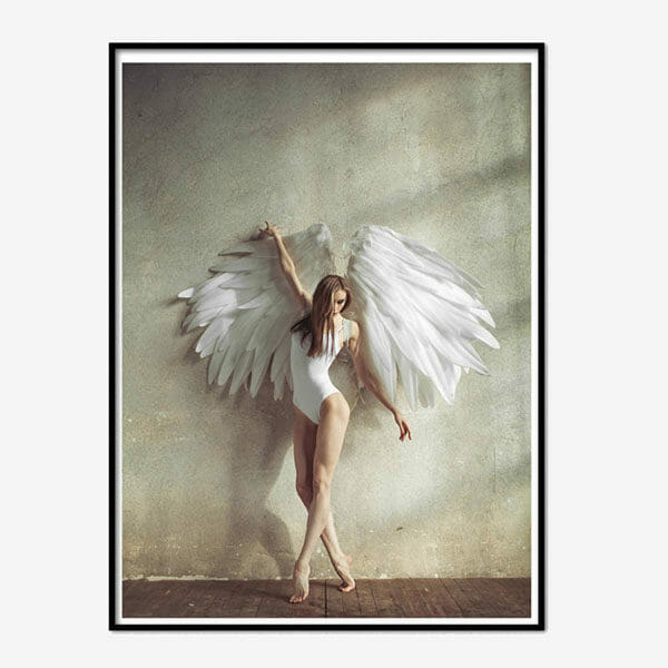 Poster Photo Art Angel Natural