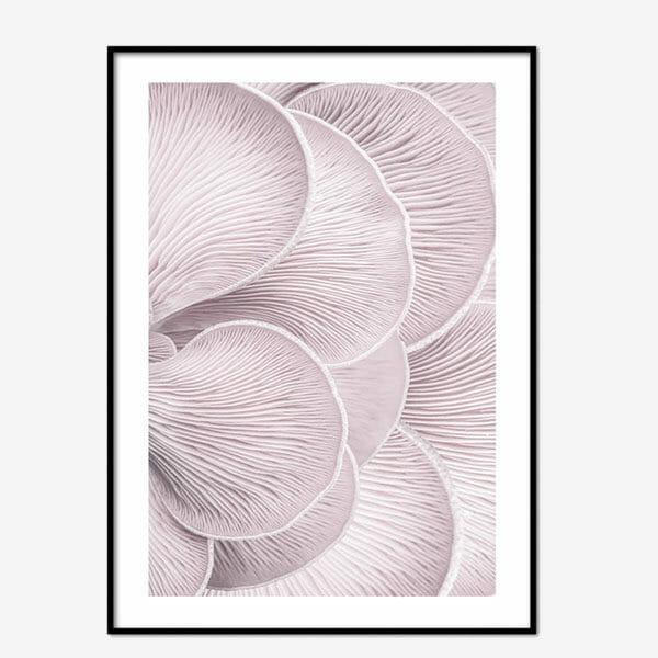 Poster Pink Mushroom