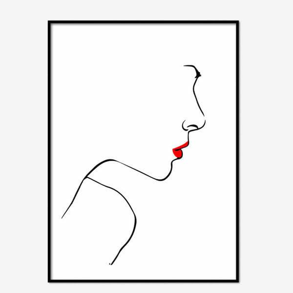 Poster Simplicity woman