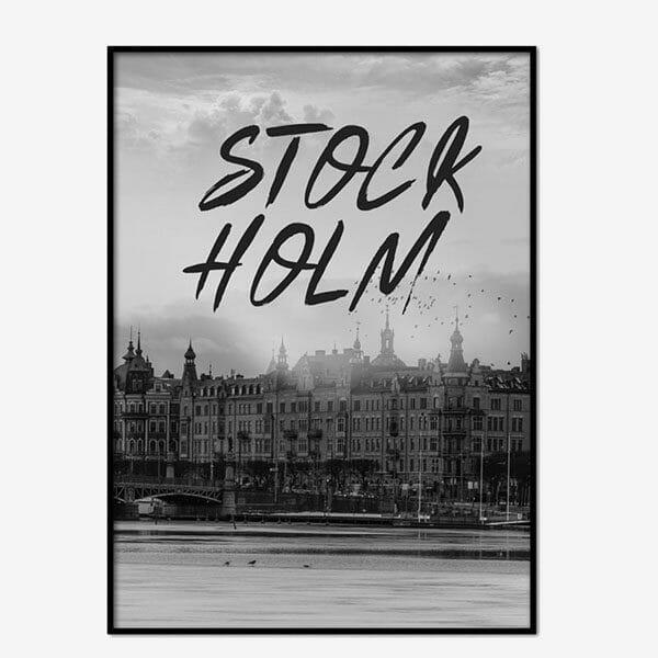 Poster Stockholm Brushed 2