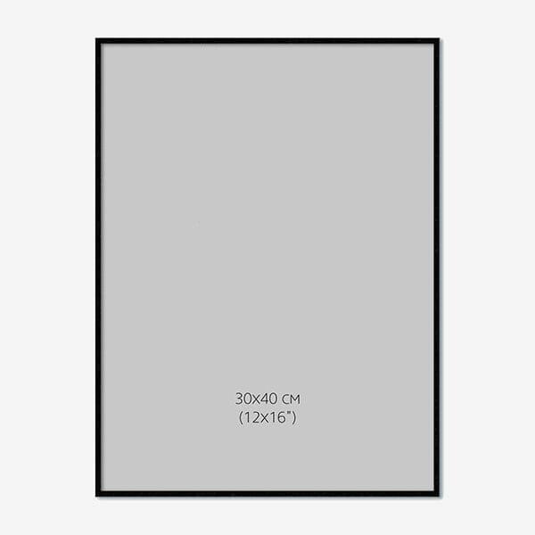 Svart Träram 30x40cm