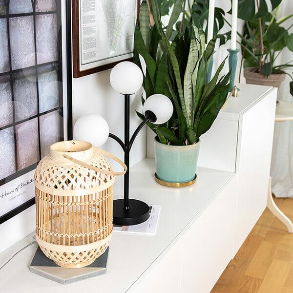 Bordslampa Sörvik, Svart