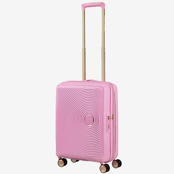 American Tourister Soundbox Rosa/Guld, Liten