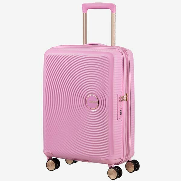 American Tourister Soundbox Rosa/Guld, Mellan