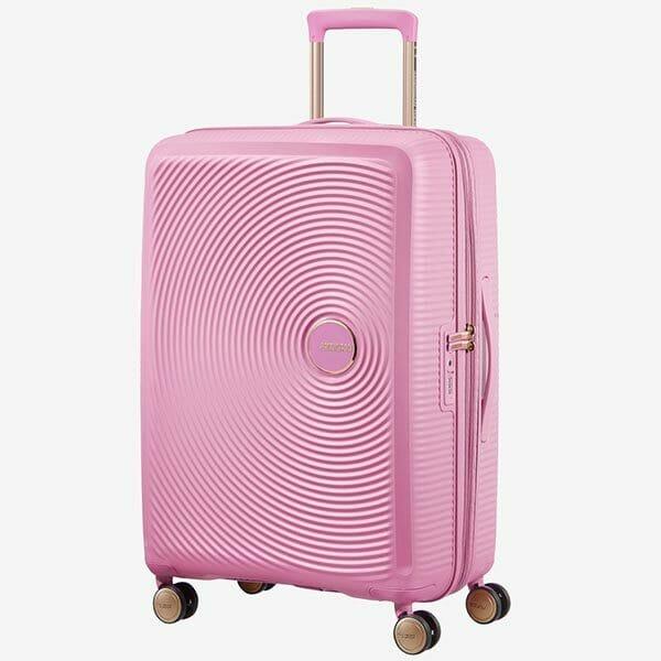 American Tourister Soundbox Rosa/Guld, Stor
