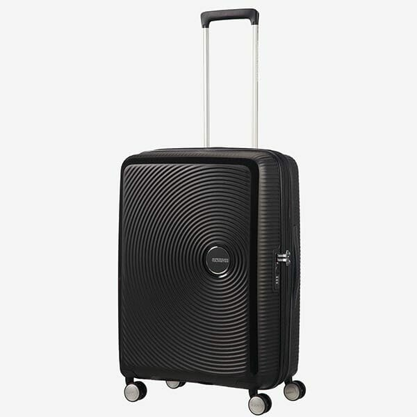 American Tourister Soundbox Svart, Mellan