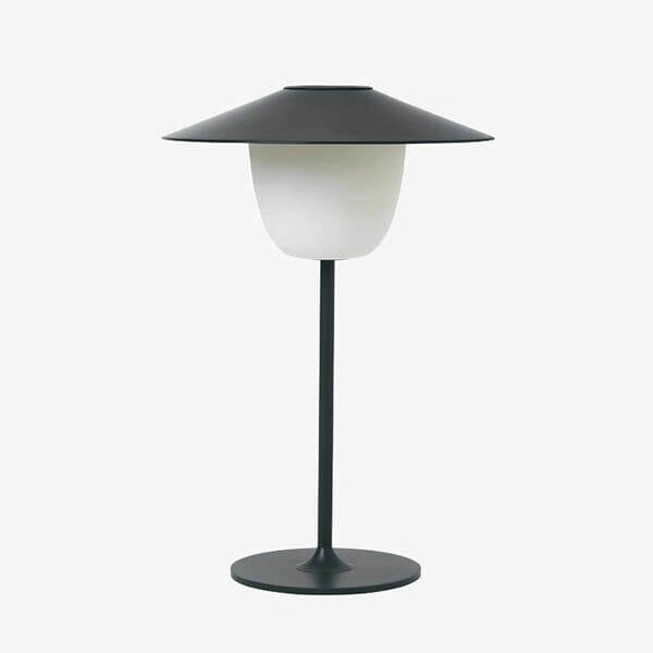 Blomus trådlös LED-lampa, Mörkgrå