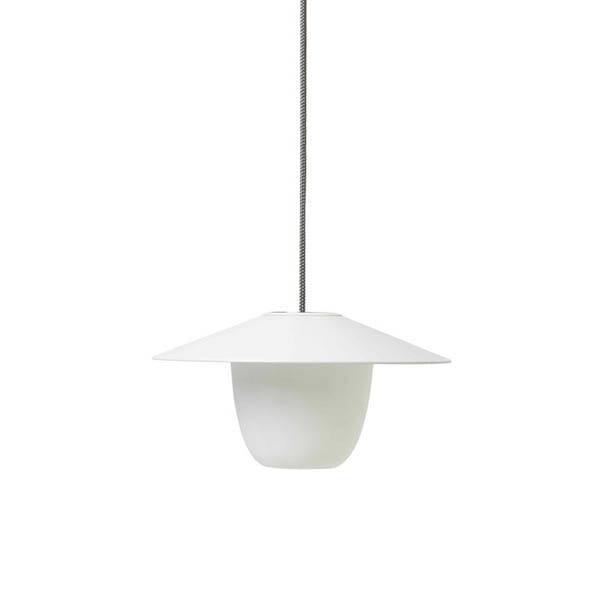 Blomus trådlös LED-lampa, Vit