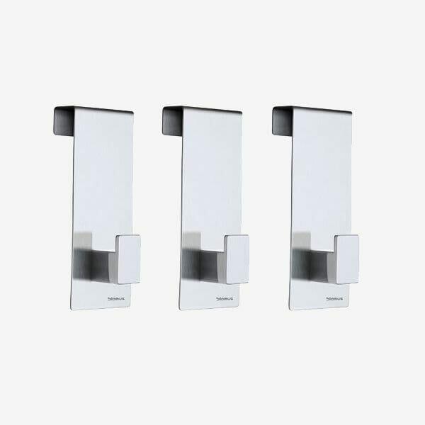 Dörrkrokar Menoto matt stål 3-pack