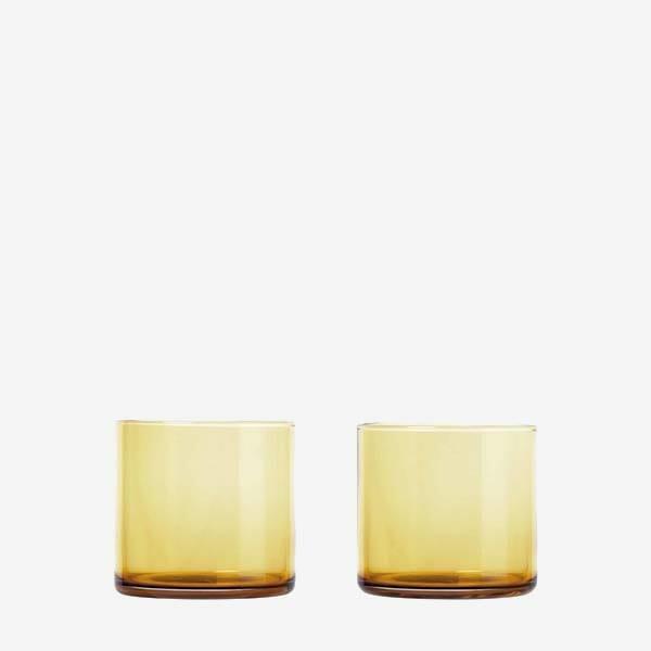 Dricksglas Mera 2-pack, Dull Gold