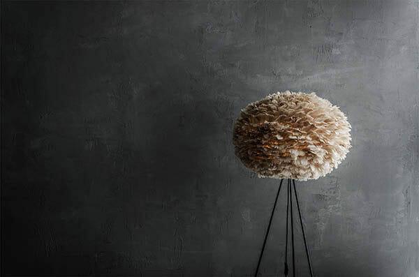 Umage Eos fjäderlampa Ljusbrun, Large