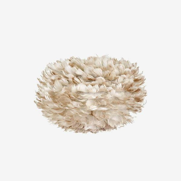 Umage Eos fjäderlampa Ljusbrun, Medium
