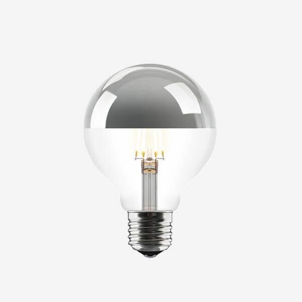UMAGE Idea LED Glödlampa, Silver, E 27