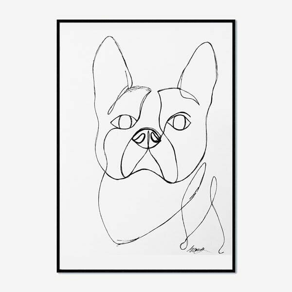 Poster French Bulldog