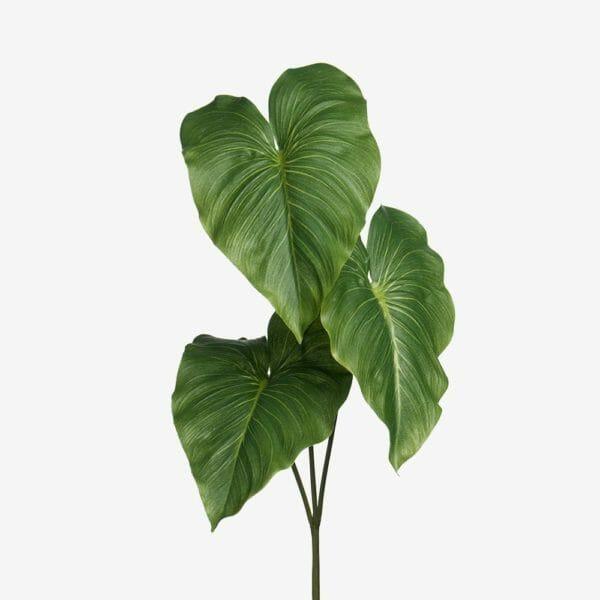 Blad konstväxt 60 cm, Grön
