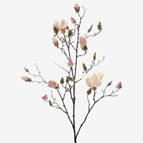 Magnolia kvist 110 cm, Rosa/Vit