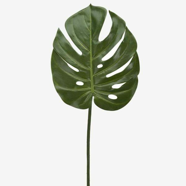 Monstera blad 60 cm