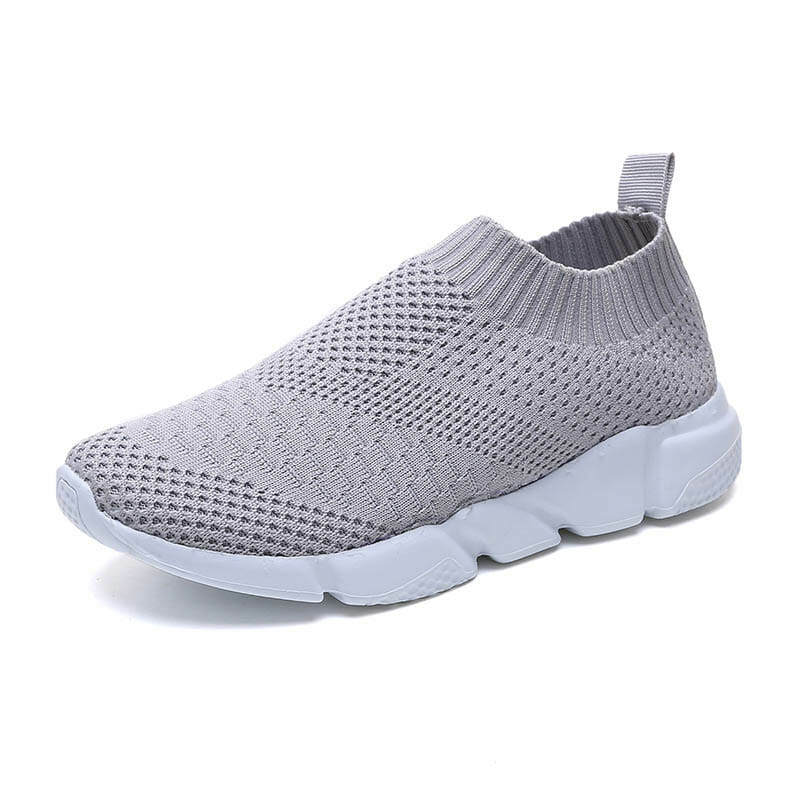 Slip-on sneakers grå