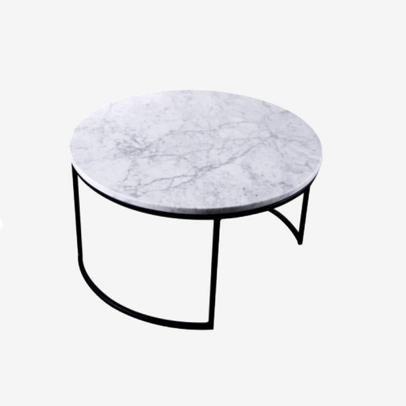 Helt nya Köp Kraljevic runt bord ljus marmor/svart för 6990 kr hos II-66