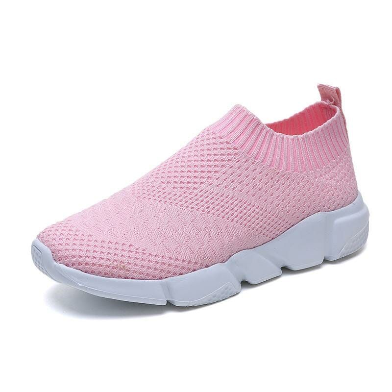 Slip on sneakers rosa