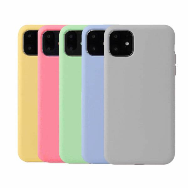 Silikonskal till iPhone 11 - 8 färger