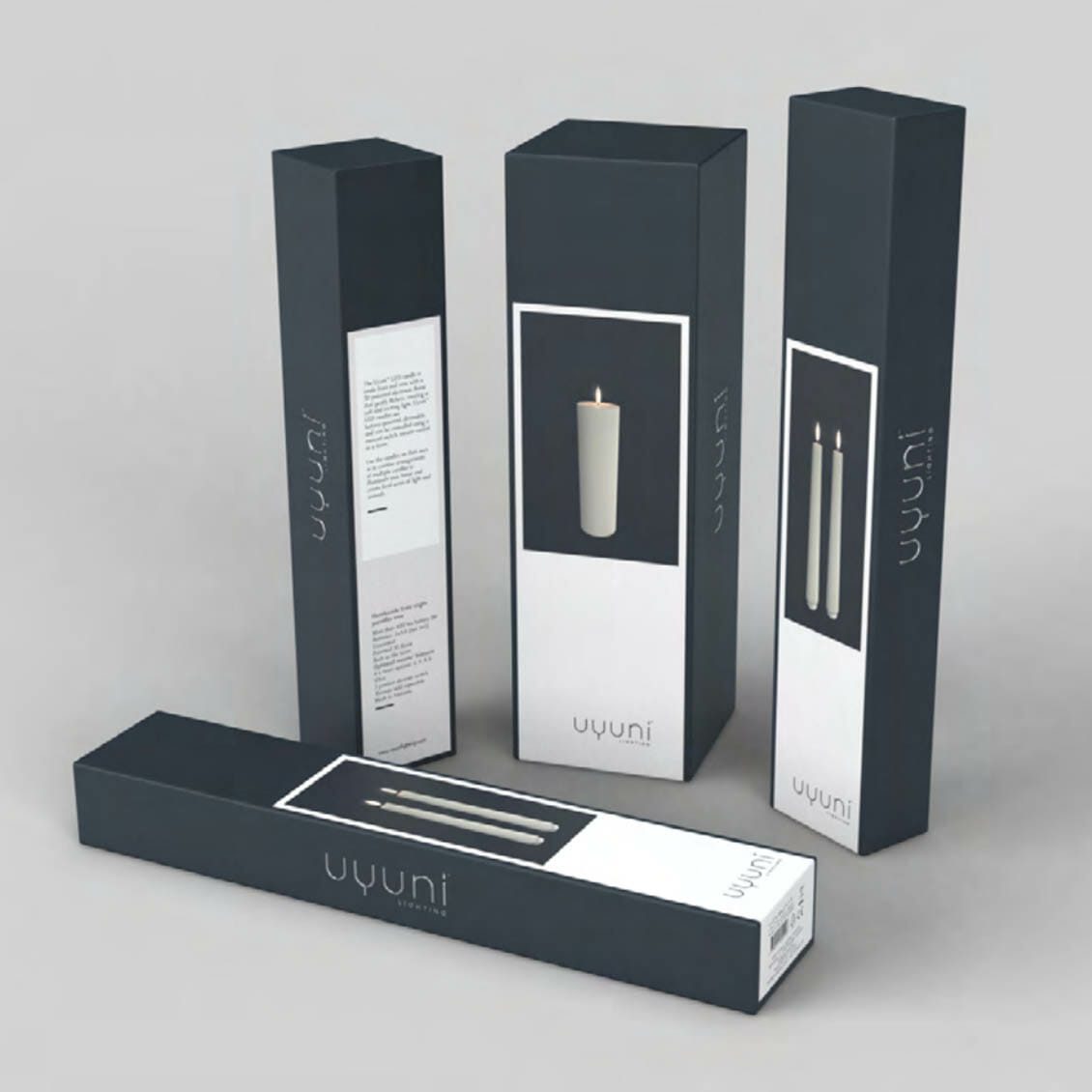 Kronljus Batteridrivet LED-ljus med äkta vax