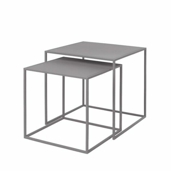 Satsbord Juniper 2 bord, Ljusgrå