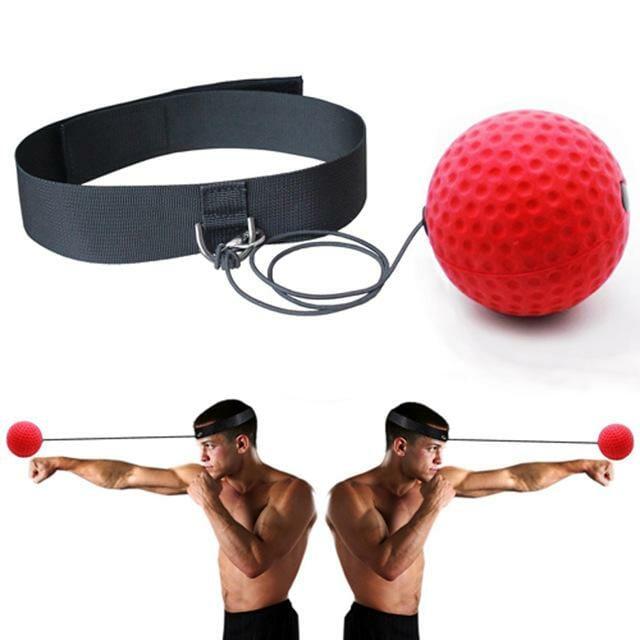 Boxboll reaktionstränare/Speedball