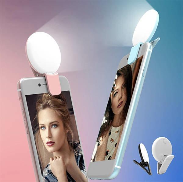 Selfie LED-lampa smartphone - Boldliving.se
